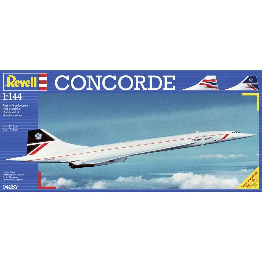 Model samolotu do sklejania revell concorde 1 144 for Modellino concorde